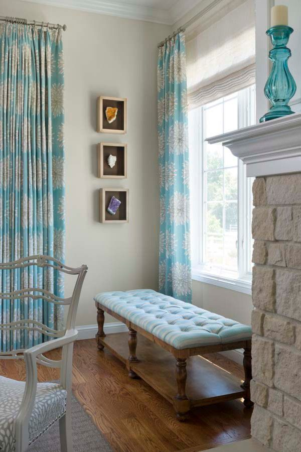Turquoise Drapes | Armijo Design Group