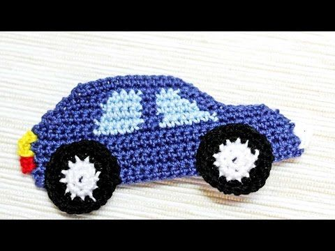 How To Make A Crocheted Car Applique – DIY Crafts Tutorial – Guidecentral