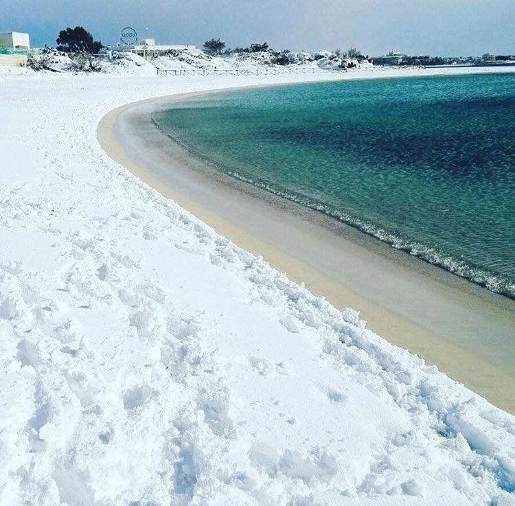 Porto Cesareo Beach Puglia Southern Italy January 7th 2017 Visialy