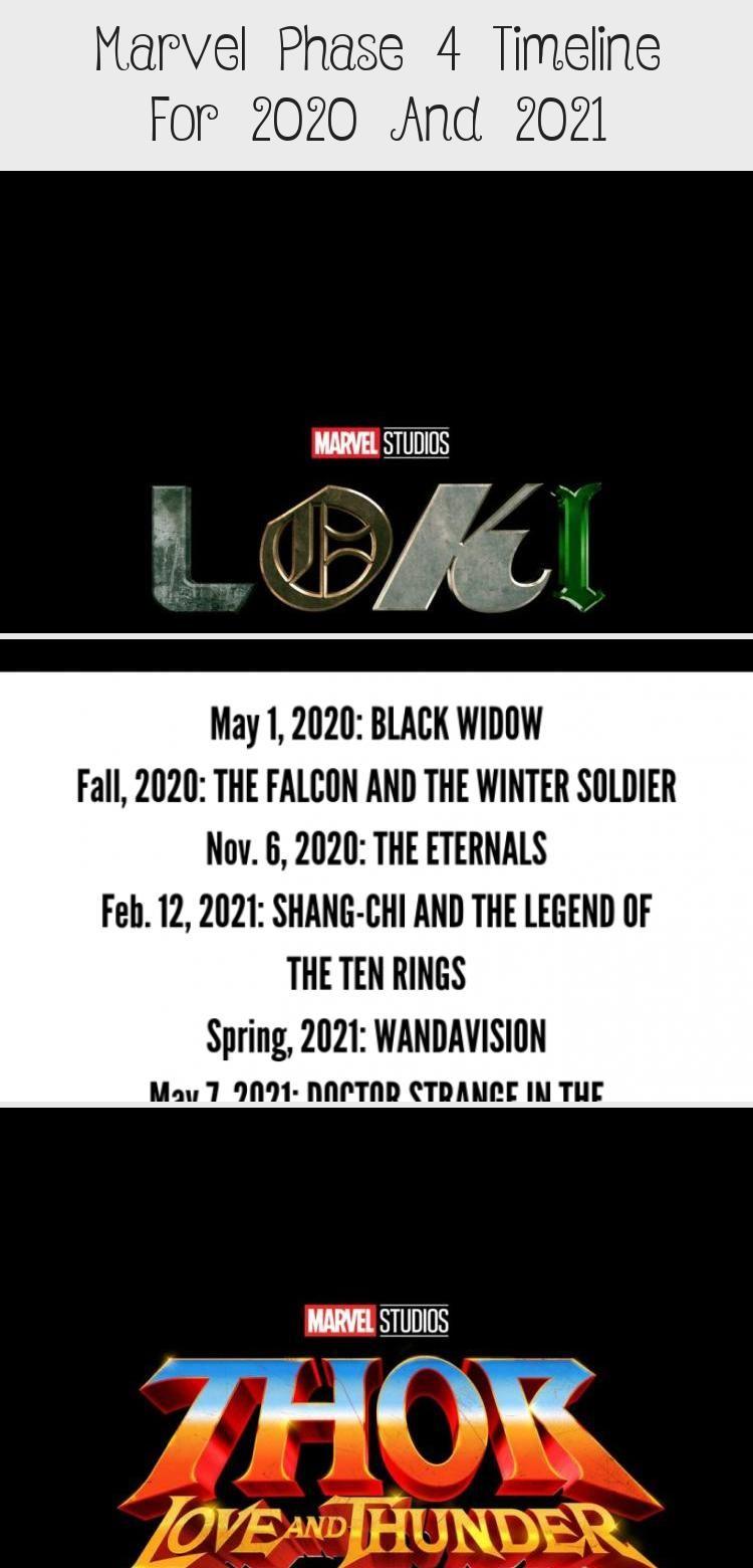 Marvel Timeline 2021