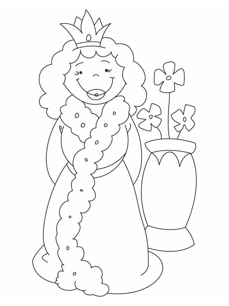 Mcqueen Coloring Page The Following Is Our Collection Of Free Queen Coloring Page You Are Free To Downl Elsa Coloring Pages Bee Coloring Pages Coloring Pages