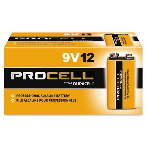 Duracell Procell 9 Volt Batteries Pack Of 12 Duracell Alkaline Battery 9 Volt Battery