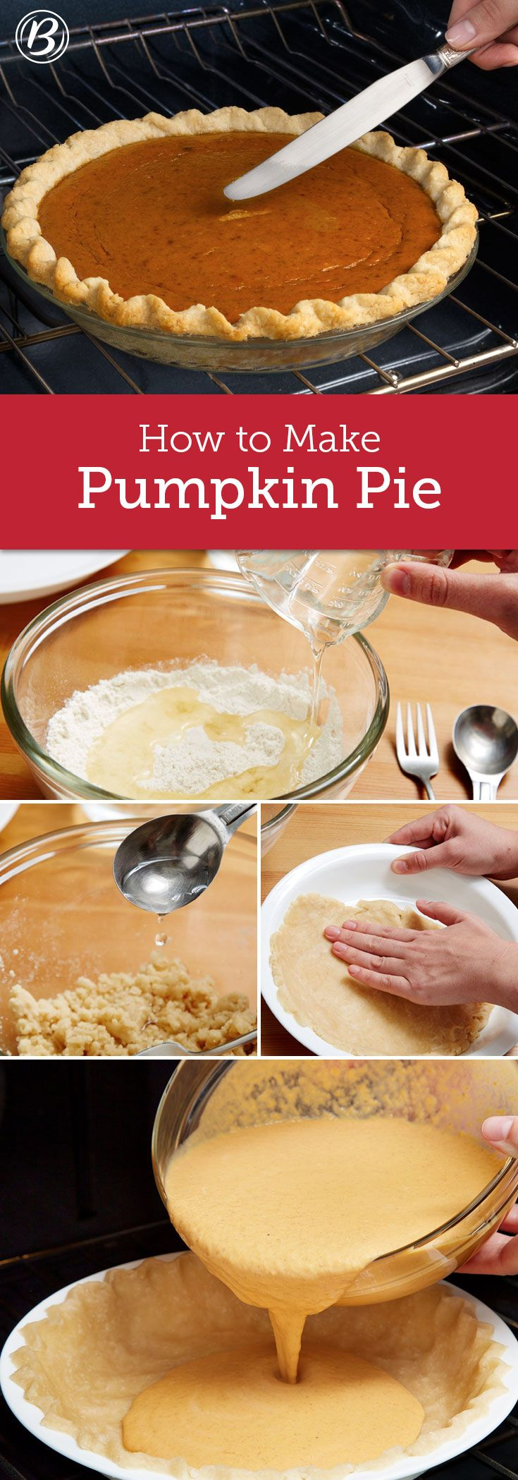 Your Thanksgiving guests will be grateful you put time into making this classic (and surprisingly easy!) pumpkin pie. Our fail-safe recipe and step-by-step photos make it extra-easy to nail, even on your first try!