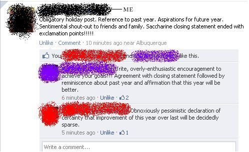 Click for more v.funny New Years Resolutions Made In Facebook ...