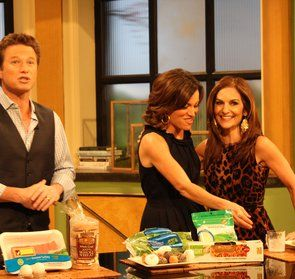 Joy Bauer shares some delicious & healthy recipes on Access Hollywood Live on Feb. 1, 2012