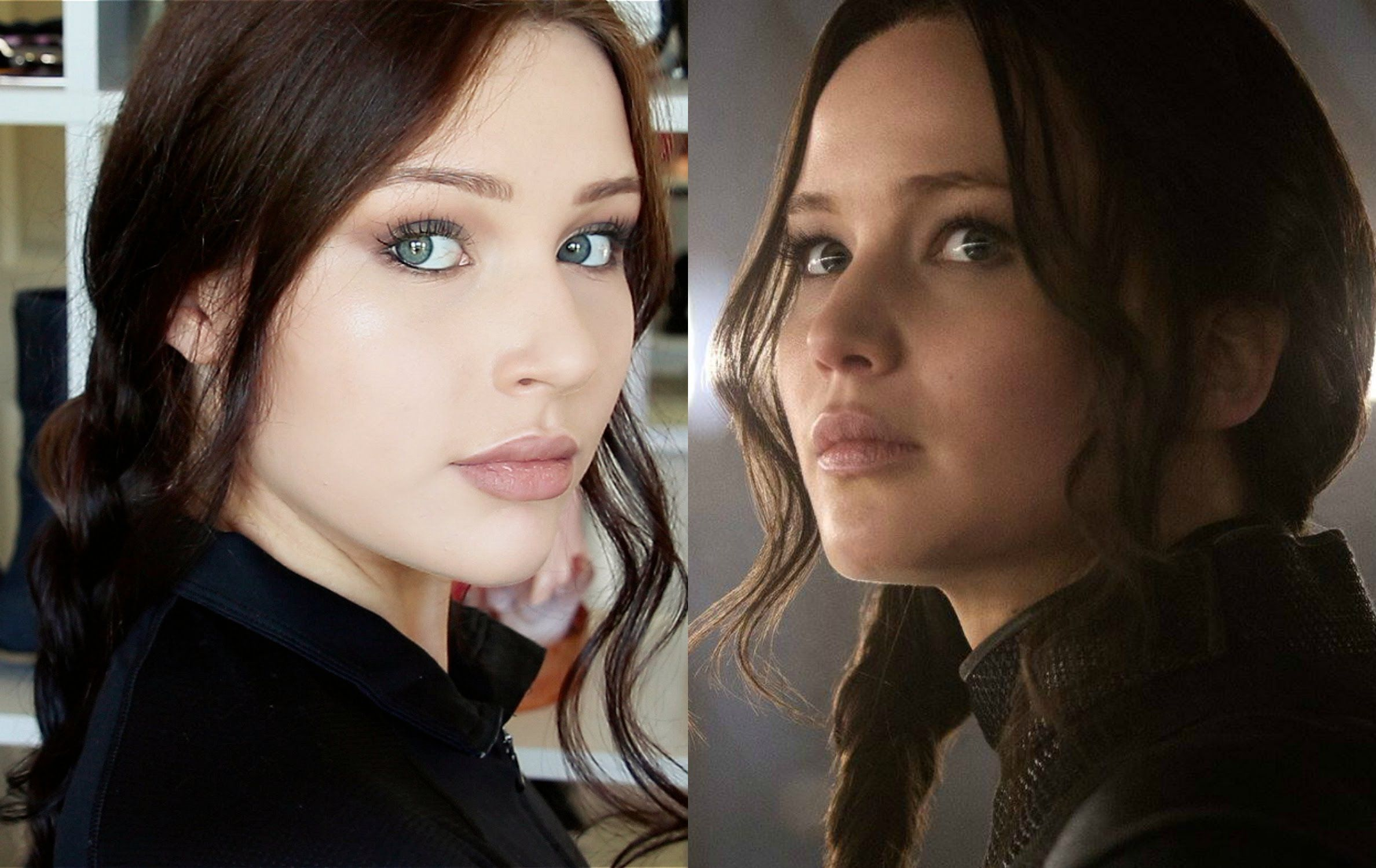 Jennifer Lawrence Mockingjay Makeup Tutorial I always liked Katniss Everdeen…