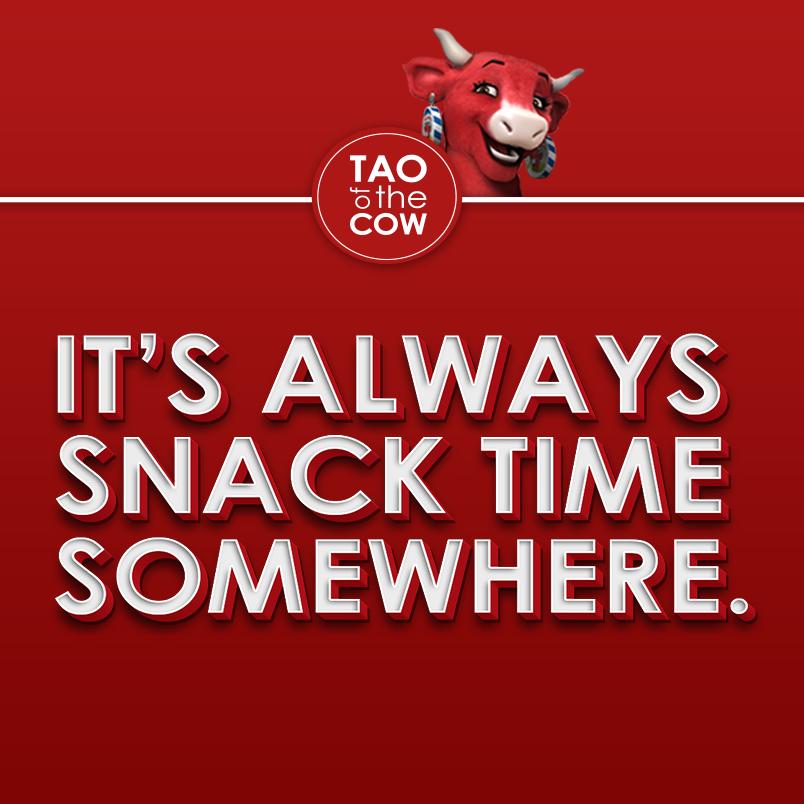 It's always snack time somewhere.