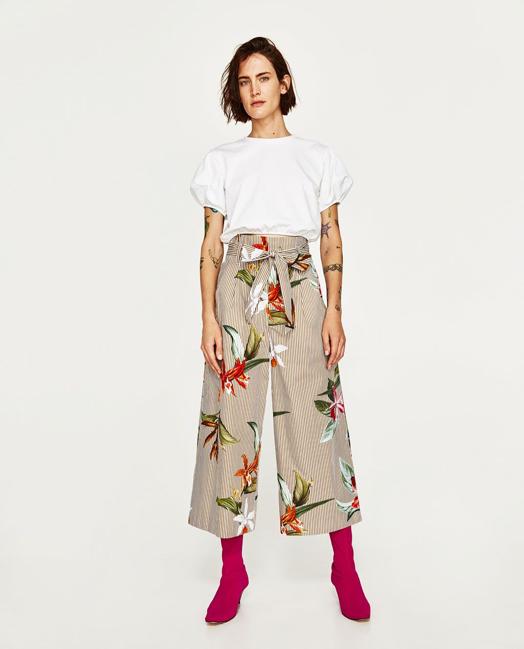 En Zara hay demasiados pantalones culotte que nos queremos