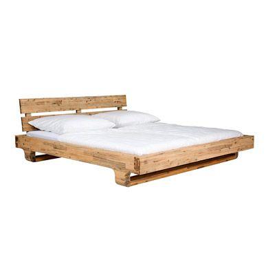 Minimalistisches Design Vollholz Bett | Holzbetten ...