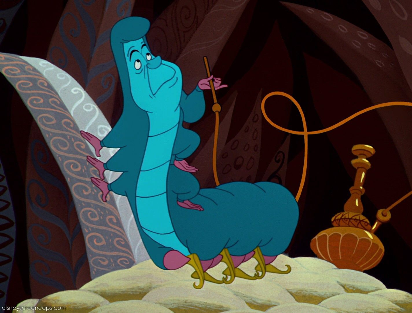 A... E... I... O... U... The Caterpillar - Alice in ...