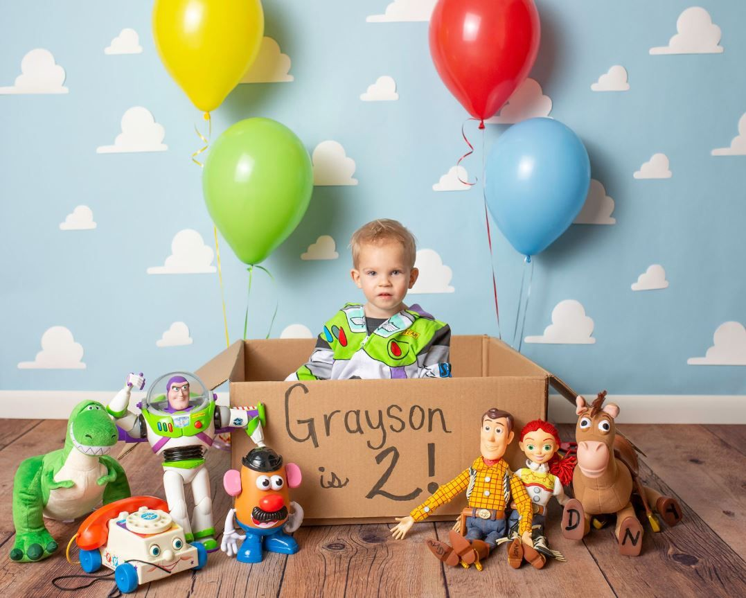 Two Infinity And Beyond Toy Story Birthday Party Boy Birthday Parties 2nd Birthday Boys