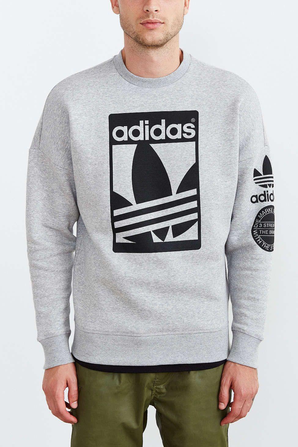 Predownload: Adidas Originals Box Trefoil Graphic Sweatshirt Sweatshirts Graphic Sweatshirt Trendy Shirts [ 1463 x 975 Pixel ]