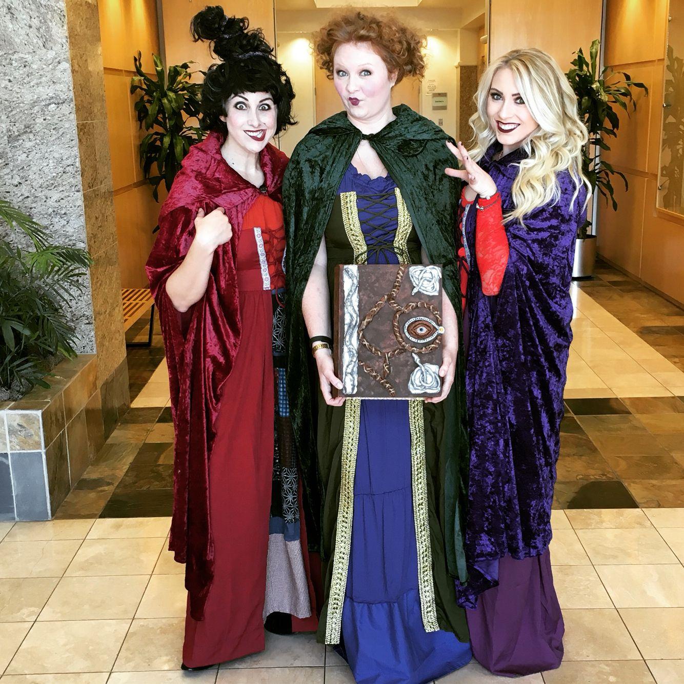 Hocus Pocus Halloween costume. Sanderson sisters.   Holiday Decor ...