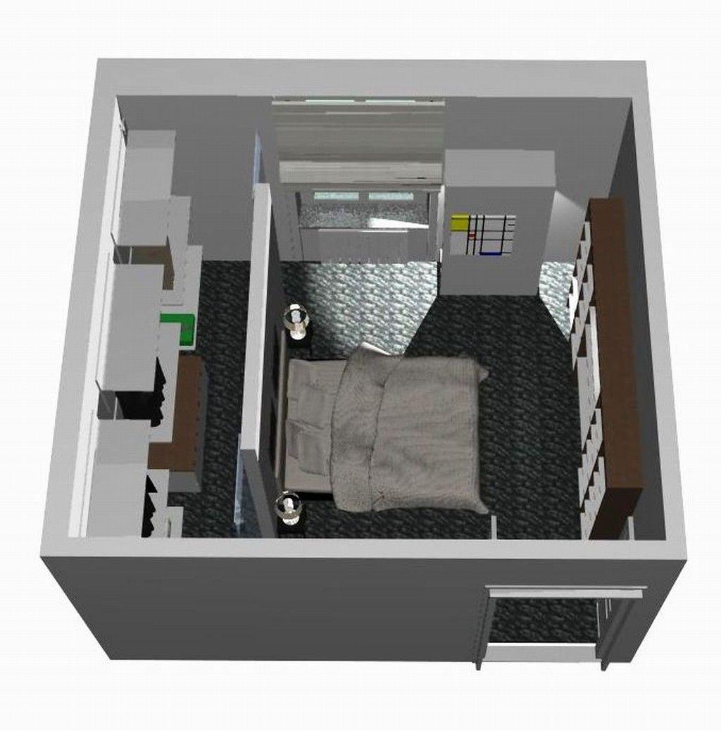 Progettazione di cabina armadio syncronia arredo for Modelli case 3d