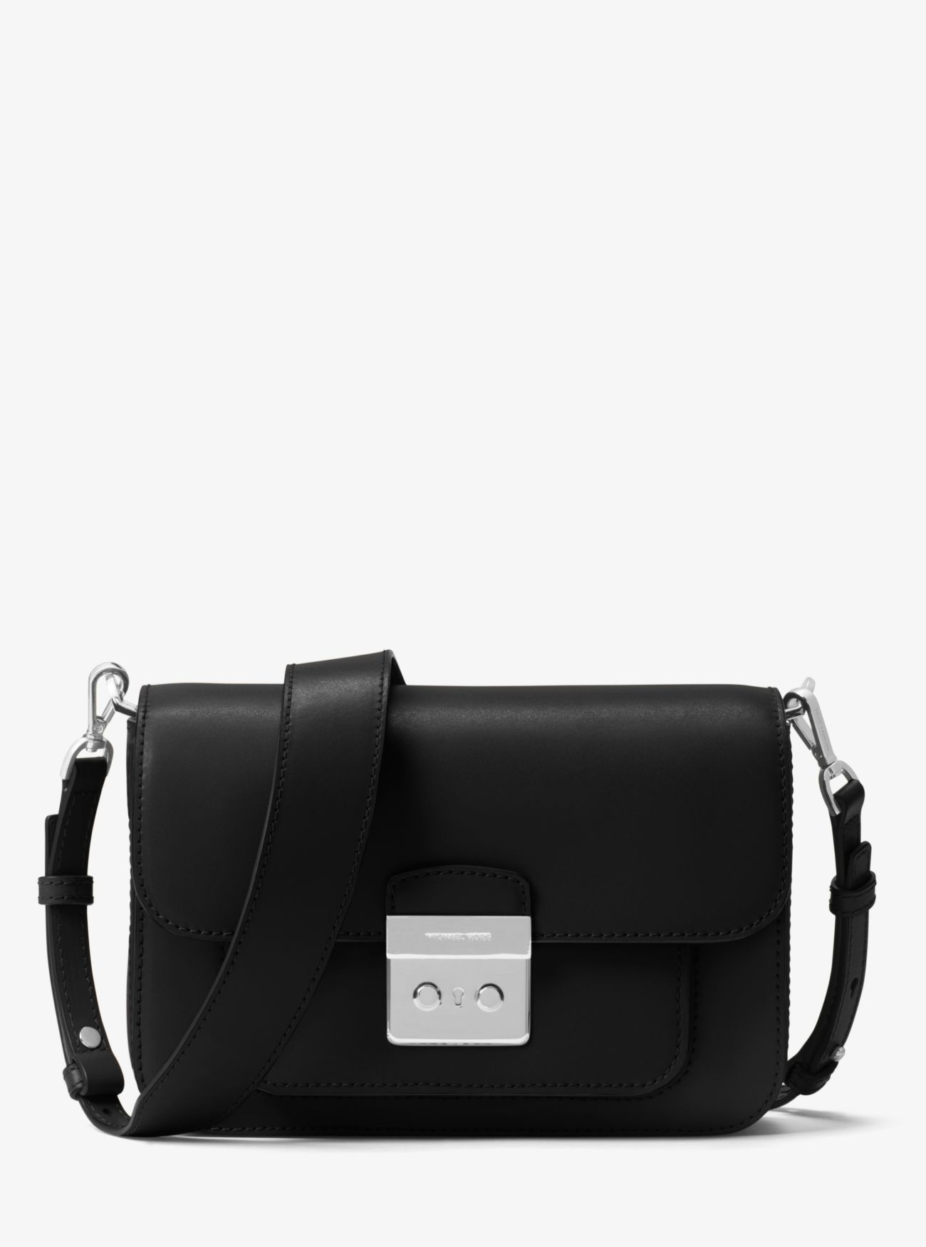 a1c777cd4d03 Price Michael Kors Black Sloan Editor Leather Shoulder Bag Cheap ...