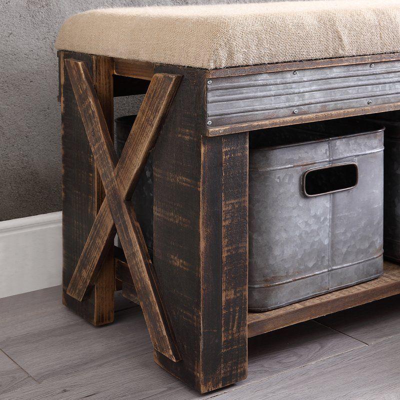 Bonnard Upholstered Storage Bench Upholstered Storage Storage Bench Upholstered Storage Bench