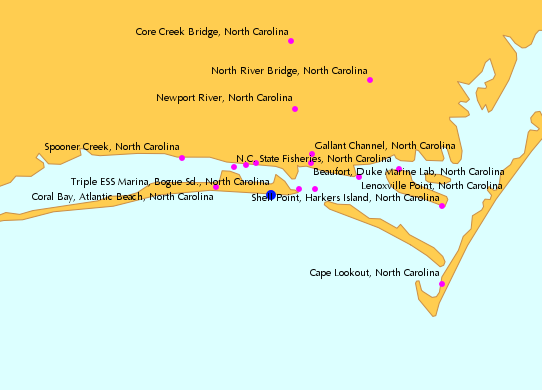 Atlantic Beach North Carolina Tide Chart Vacation Pinterest