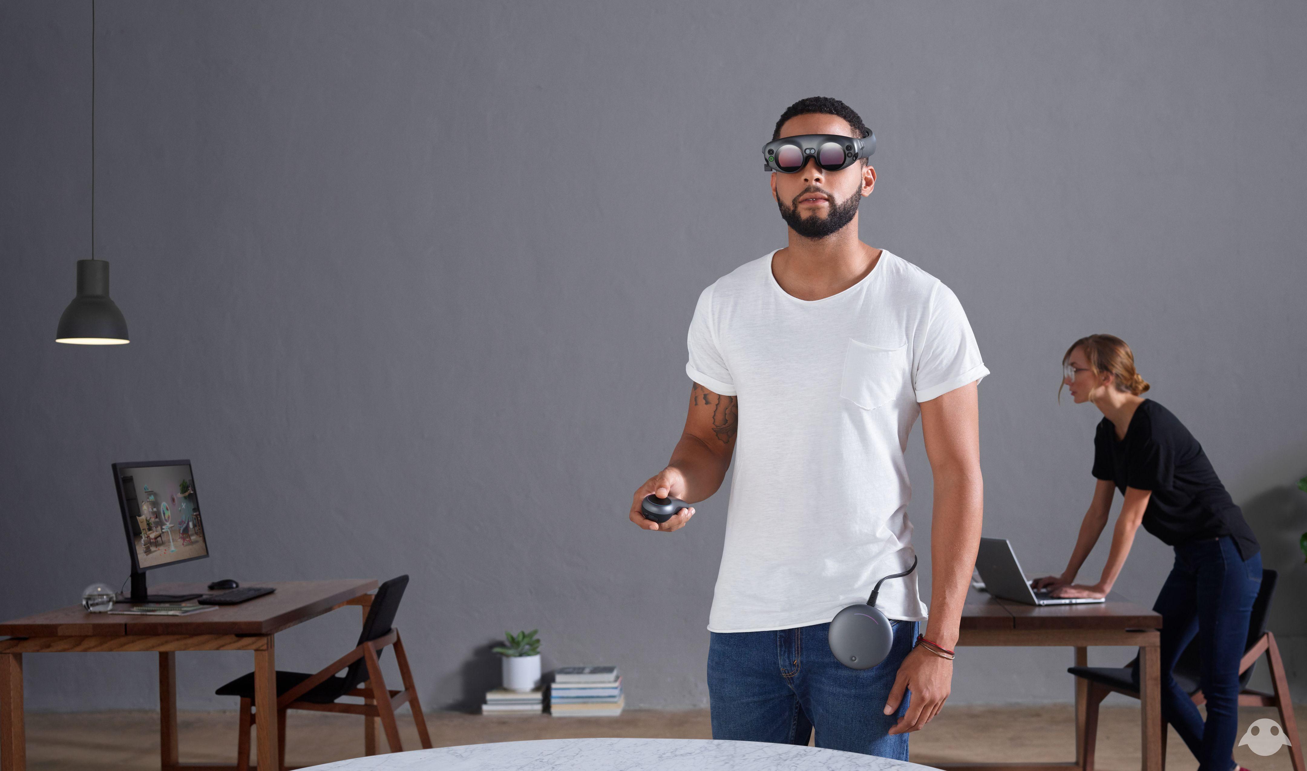 MagicLeap Smoke&Mirrors? Augmented reality, Start up