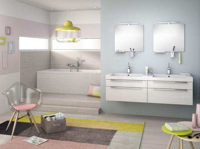 Salle De Bains Delpha Salle De Bain Pinterest Salle De Bains - Delpha salle de bains pour idees de deco de cuisine