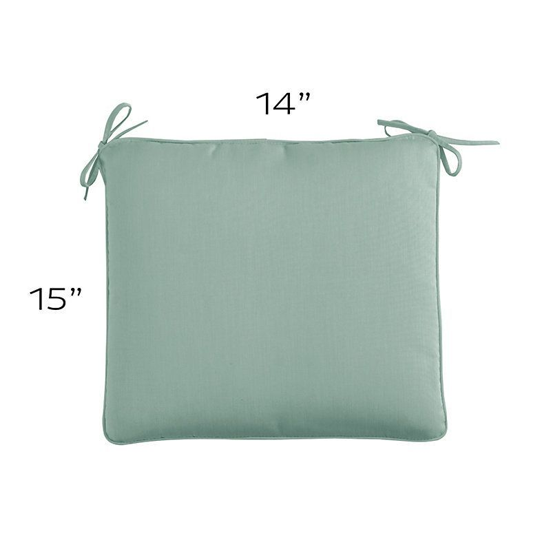 Outdoor Chair Cushion With Knife Edge L 15 X 14 Decorative