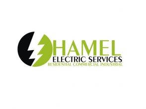Hamel Electric Services Logo Design by www.CustomLogoDesignUSA.com