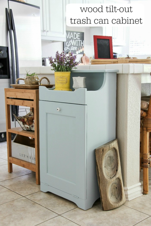 8 Sneaky Ways to Hide an Ugly Trash Can Country chic Explore