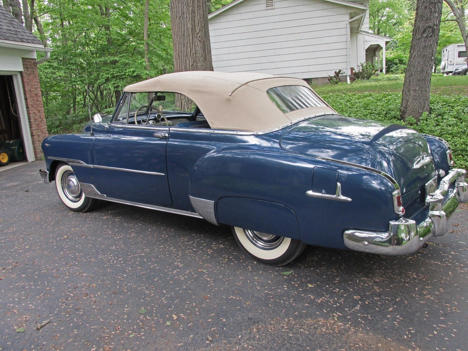 1951 Chevrolet Convertible Deluxe Chevrolet Chevy Classic Cars