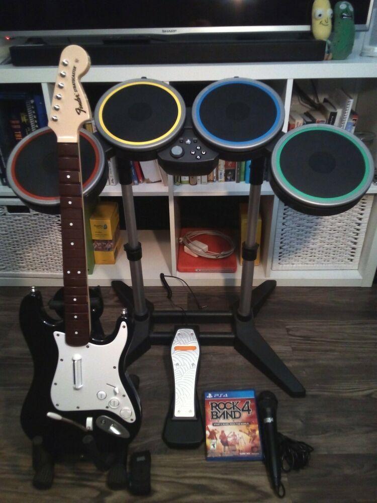 PS4 Rock Band 4 - Band In A Box Bundle - Playstation 4