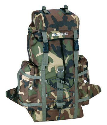 NEW Large Army Camouflage Backpack Military Rucksack Hiking Camping Outdoor Bags