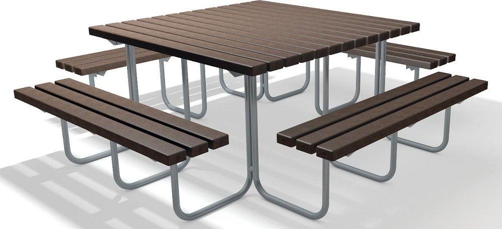 Bank Tisch Kombination Brama Aus Recycling Kunststoff Tisch Recycling Kunststoff