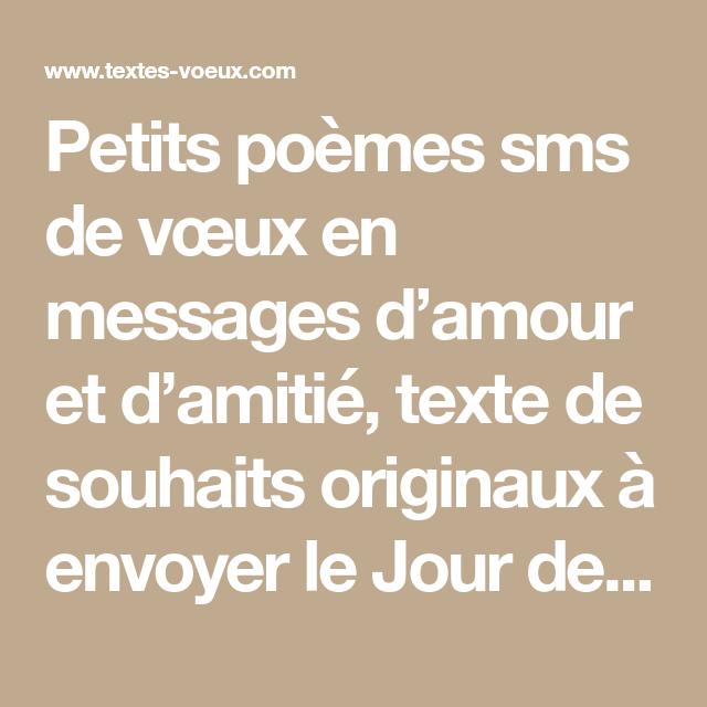 Courts Poèmes Pour Souhaiter Une Bonne Année Par Sms Poeme