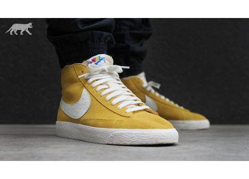 remise d'expédition authentique Nike Blazer Vintage Qs Veste Jaune jeu 100% authentique Livraison gratuite confortable vente meilleur prix EDVd0