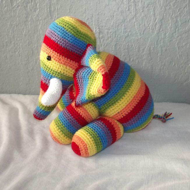 amigurumi l phant patron gratuit crochet pour mes filles pinterest amigurumi tricot et. Black Bedroom Furniture Sets. Home Design Ideas
