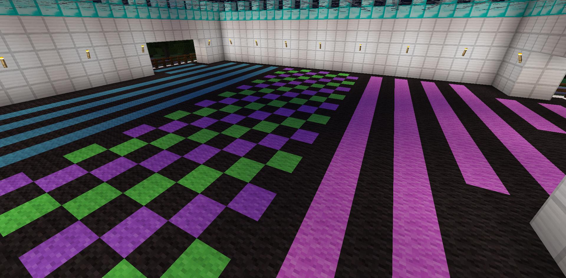 Minecraft Colorful Rainbow Carpet Designs Carpet Design