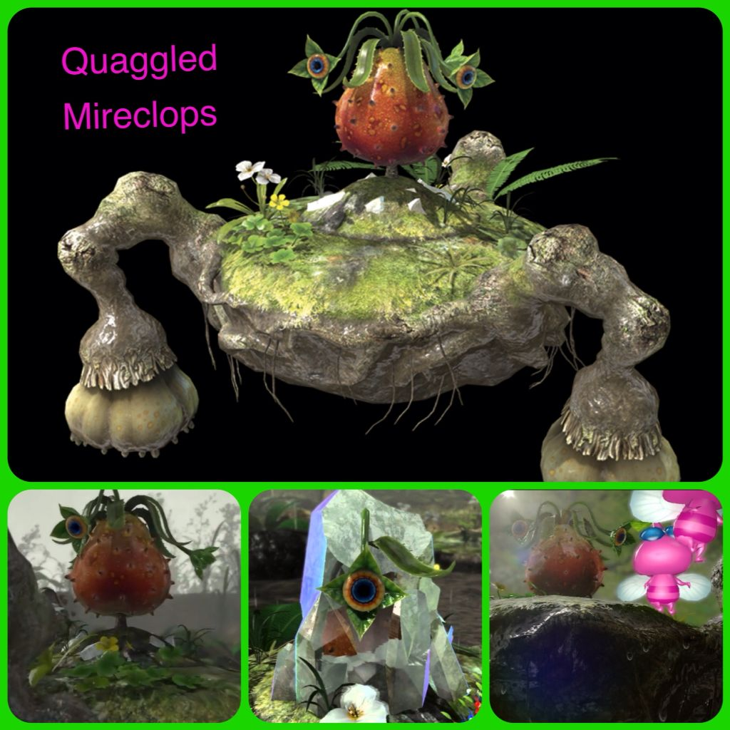 Quaggled Mireclops Painting Art