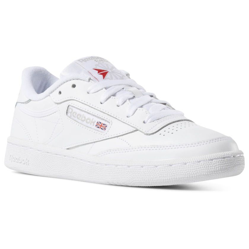 Club C 85 White Light Grey Bs7685 Frauenschuhe Sneaker White Sneaker