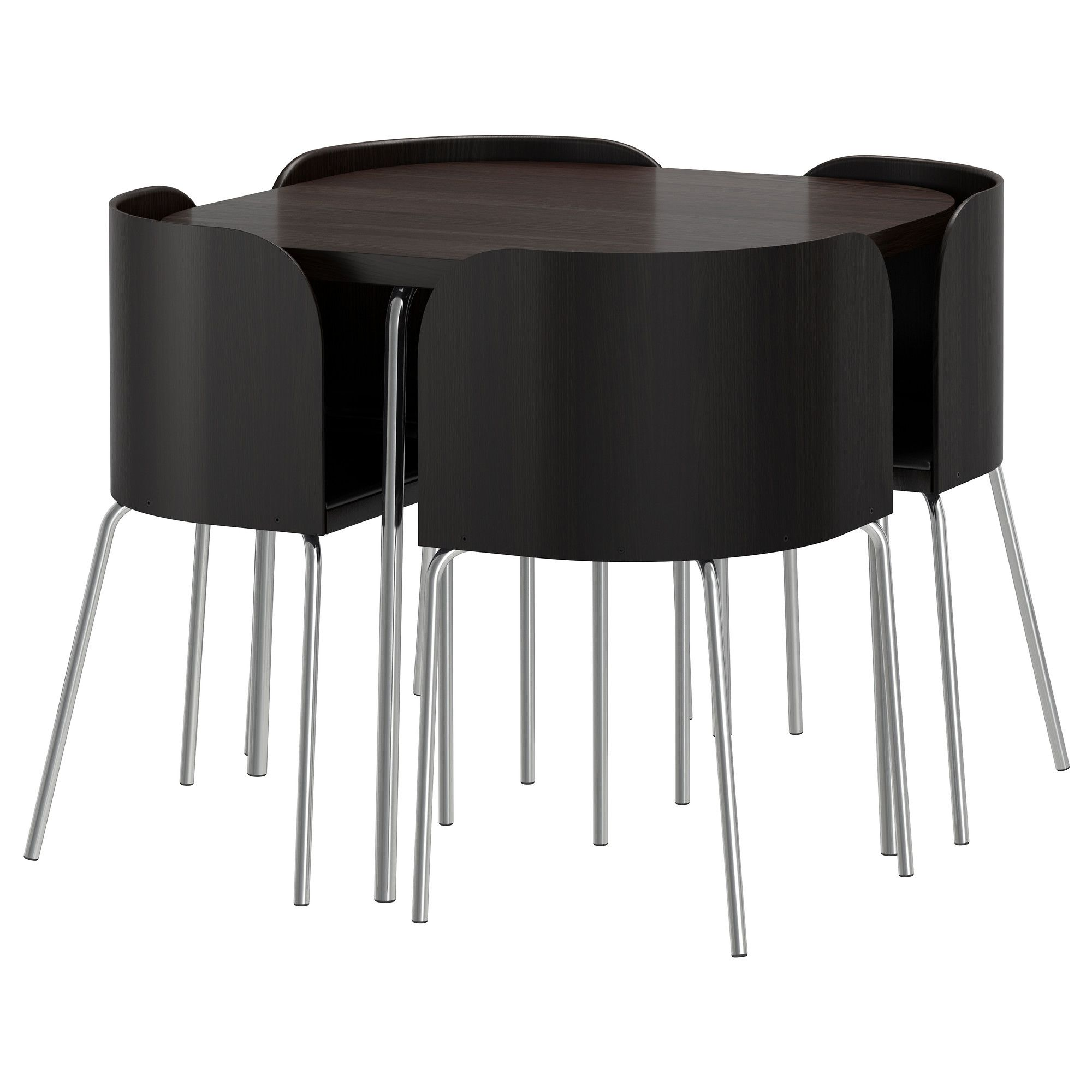 FUSION Table and 4 chairs - IKEA | House Styles | Pinterest | Chrome ...