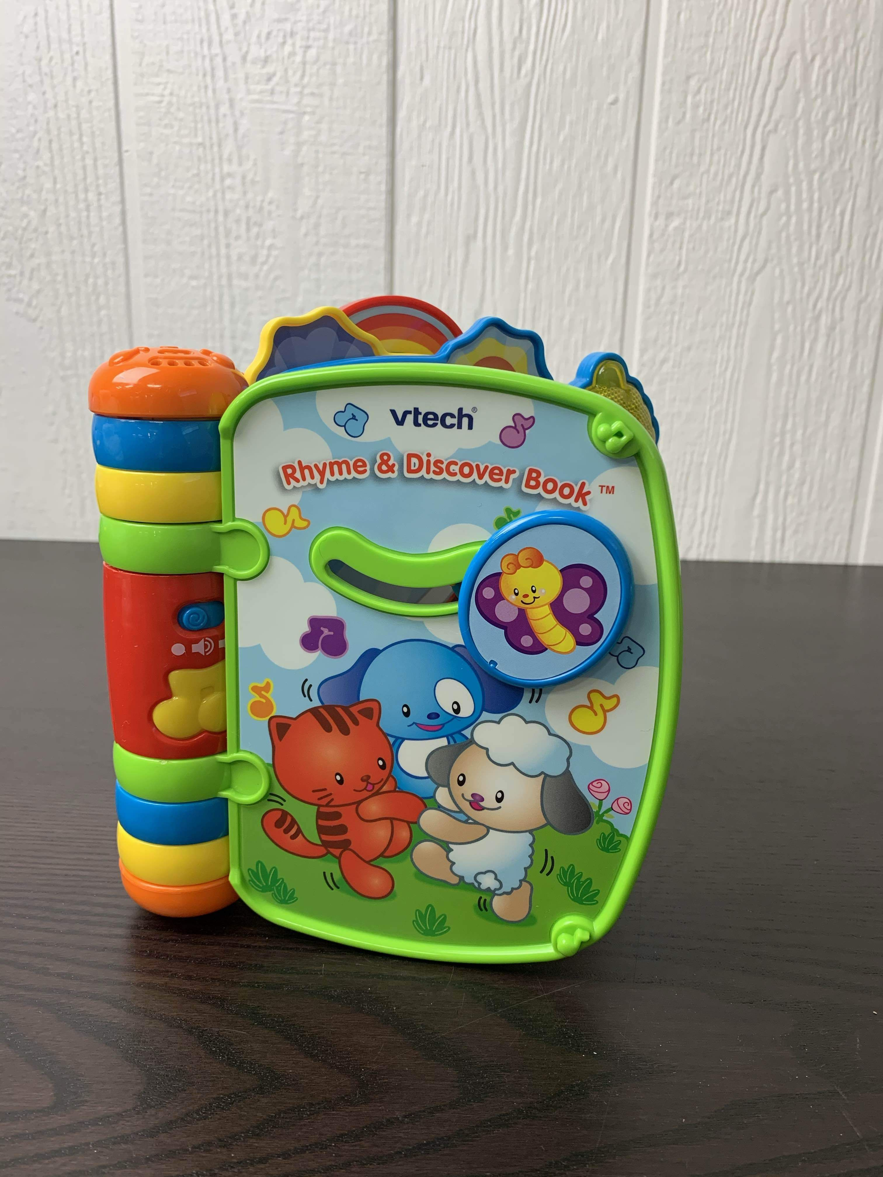 Vtech Rhyme Discover Book In 2021 Rhymes Educational Books Vtech