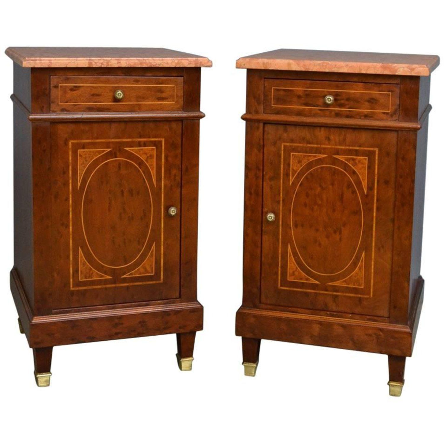 Pair of Antique Bedside Cabinets - Pair Of Antique Bedside Cabinets My 1stdibs Favorites Pinterest