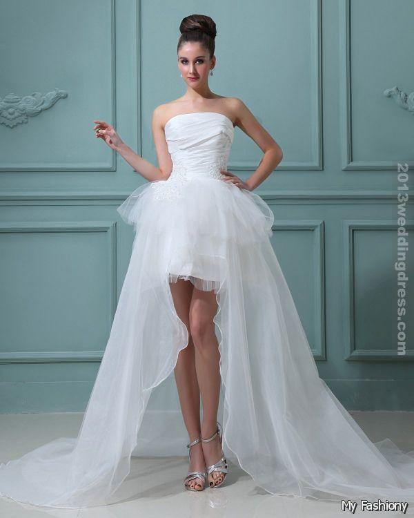 Vera Wang Short Wedding Dresses 2015-2016   MyFashiony   wedding ...