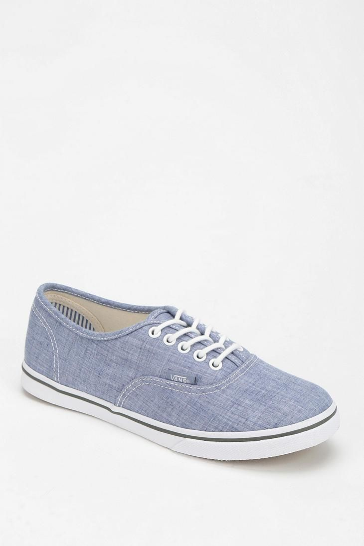 Vans Authentic Lo Pro Chambray Women s Low-Top Sneaker  urbanoutfitters d2f22dd668