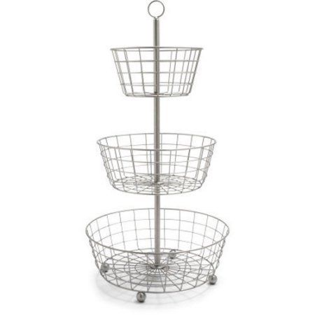 Useful UH-FB205 3 Tier Decorative Wire Fruit Basket Countertop ...