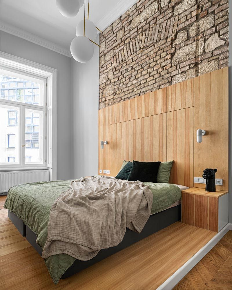 A Mezzanine Was Built To Add A Second Bedroom To This Apartment In 2020 Modern Apartment Design Modern Bedroom Apartment