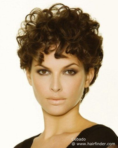 para mujeres verano rizos cabellos de pelo corto peinados moda cortes de pelo rizado corto ideas para el cabello
