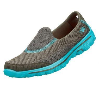 Skechers Rendimiento Go Walk 2 Chevron zapato que camina Vtmbs042T