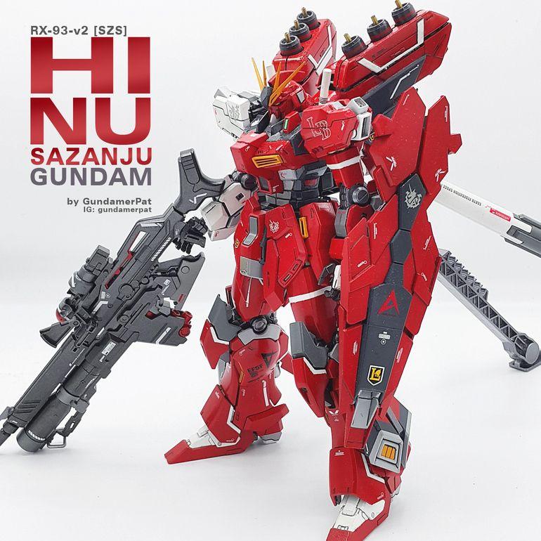 RX-93-v2 [SZS]: Hi Nu Sazanju Stein Gundam