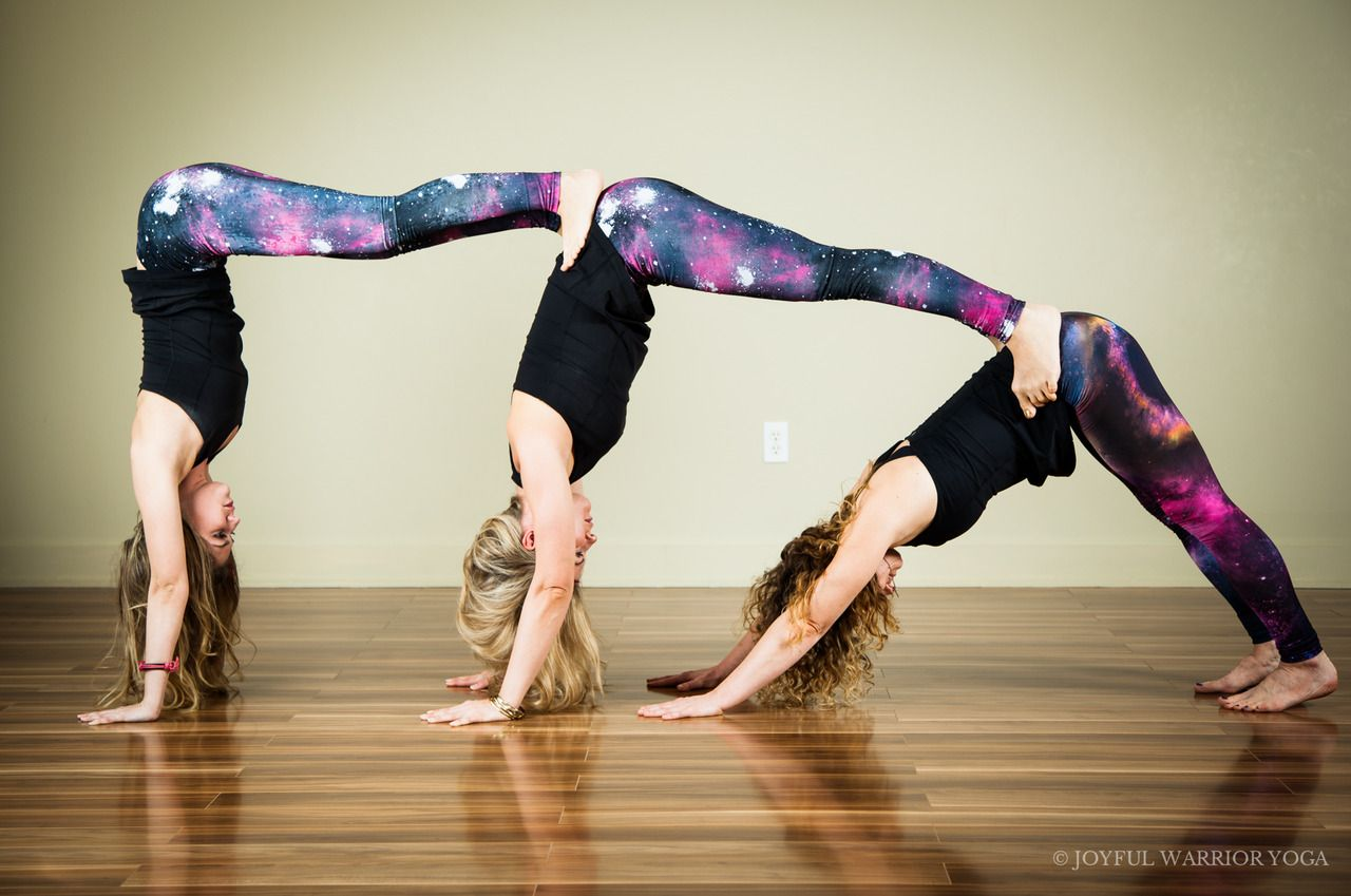 Be The Reason Someone Smiles Today 3 Person Yoga Poses Partner Yoga Poses Cool Yoga Poses