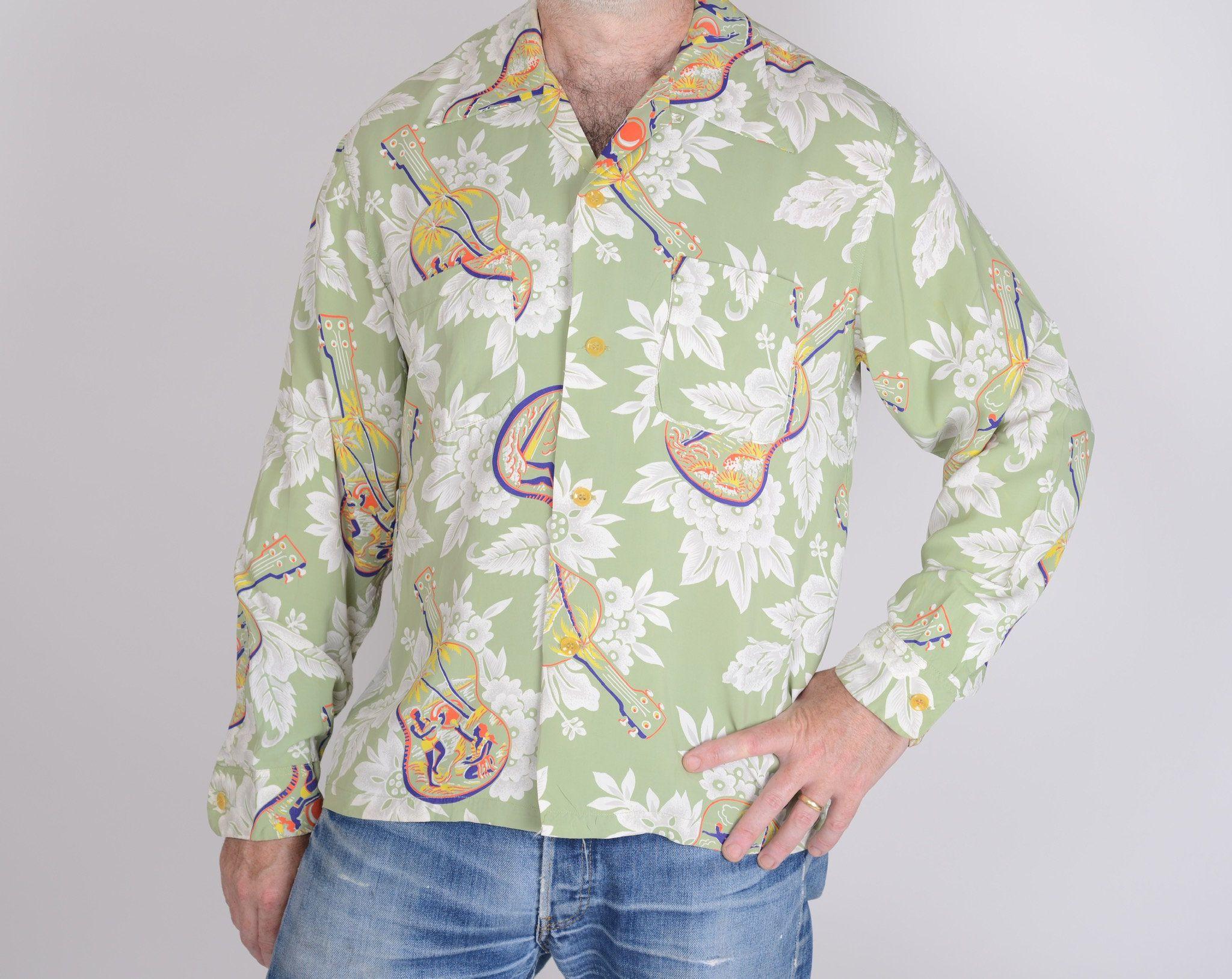 Vintage reproduction hawaiian shirts
