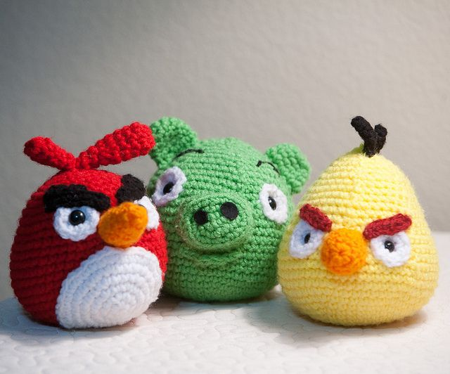 Amigurumi Cerdito Angry Birds : crochet006 Angry birds, Amigurumi and Pattern library