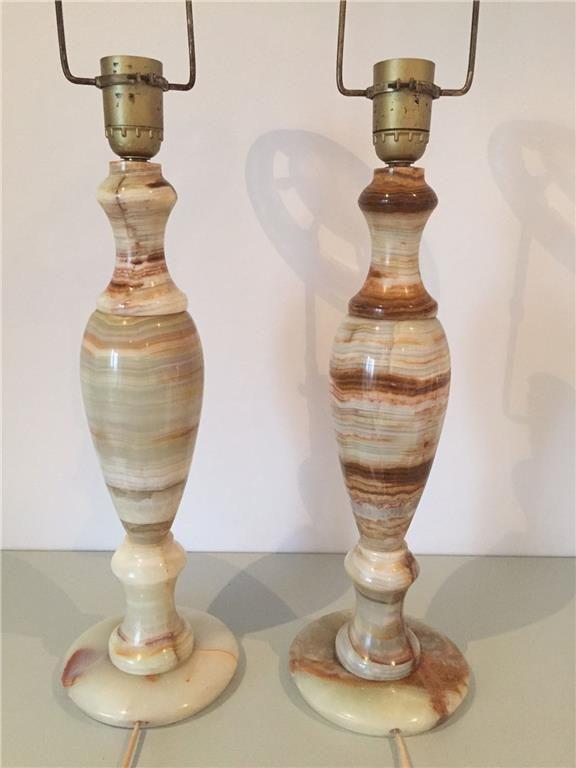 2 st pampiga bordlampfötter marmor på Tradera.com - Bordslampor | Lampor